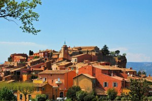 Le Roussillon in Vaucluse, one of the most visited village afterGordes.
