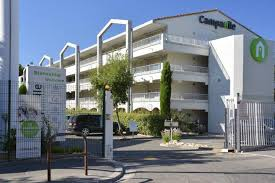 Hotels Campanille are modern....