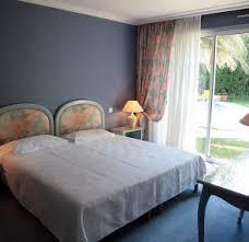 A bedroom at a relais du Silence