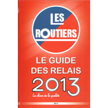 The guide 2013 for Relais des Routiers.