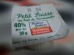My favorite dessert, Le petit Suisse.