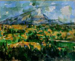 Montagne Sainte Victoire by Cezanne.