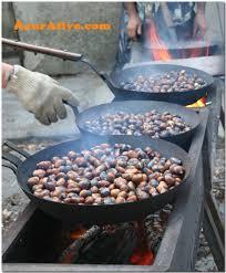 Roasting Chesnuts.