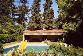 Provencal mas , by the pool.