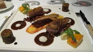Fragrant Roast beef at Jardin des Sens