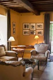 Living room at Le Mas de Peint