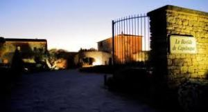 The wrought iron gates at La Bastide de Capelongue
