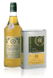 The best Olive oil de Moulin Jean Marie Cornille.