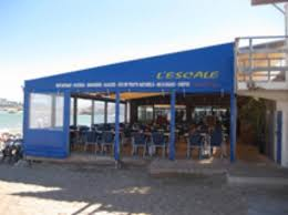 Restaurant, L'Escale in Goudes...
