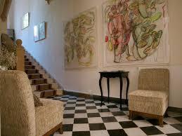 The hallway at 28 -a-Aix