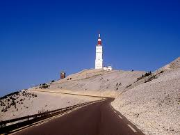 Top of Le mount Ventoux.